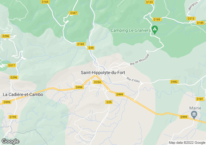 Map for Secteur: Saint-Hippolyte-du-Fort, Gard