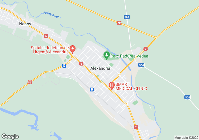 Map for Teleorman, Alexandria