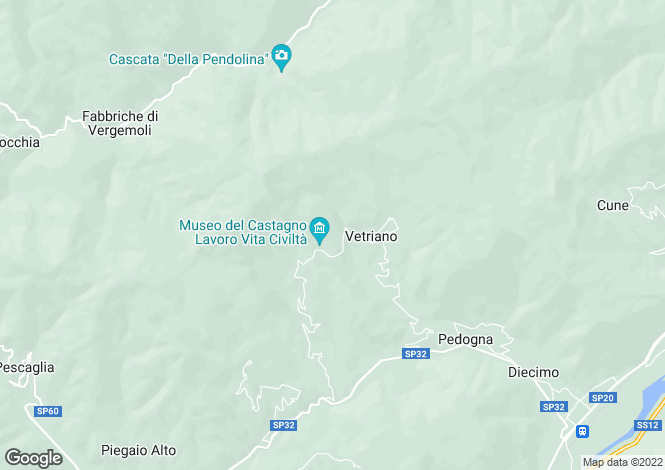 Map for Colognora, Tuscany, Italy