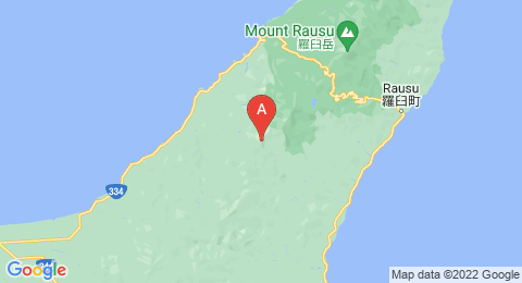 map of Mount Onnebetsu (Japan)