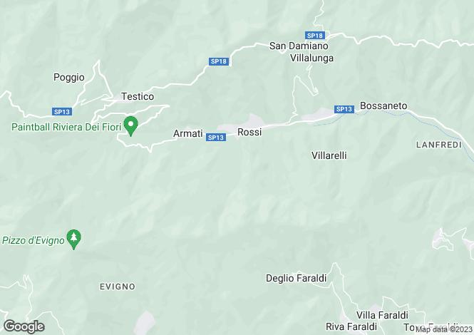 Map for Testico, Savona, Liguria