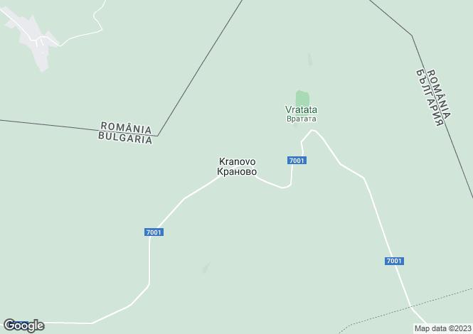 Map for Silistra, Kaynardzha