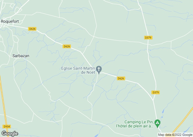 Map for Saint-Justin, Aquitaine, 40240, France