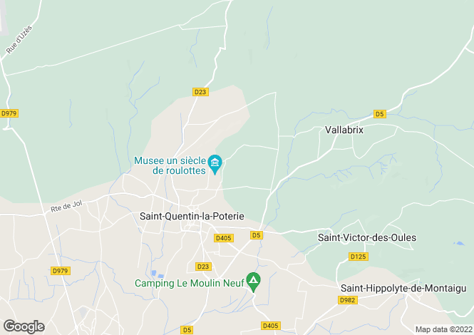 Map for st-quentin-la-poterie, Gard, France