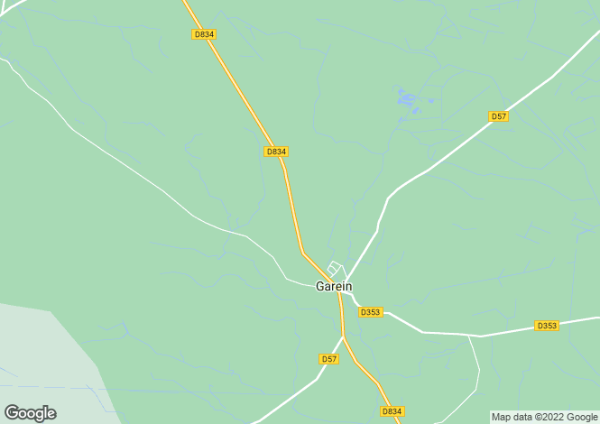 Map for garein, Landes, France