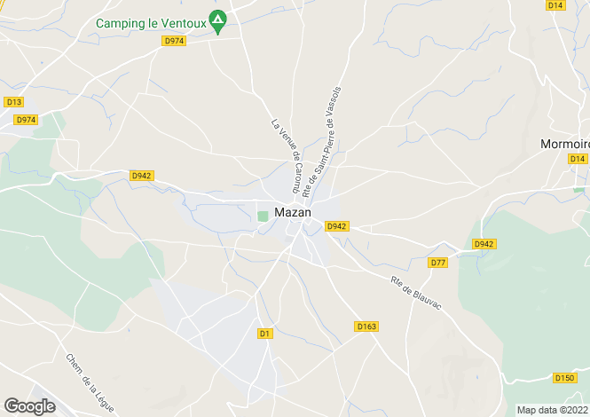 Map for 84380, Mazan, Vaucluse