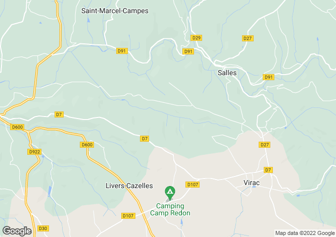 Map for Tarn, Cordes, Toulouse