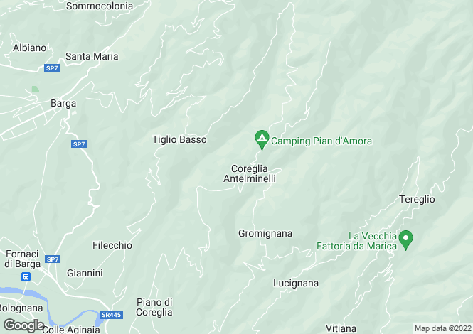 Map for Coreglia Antelminelli, Toscana, 046011, Italy