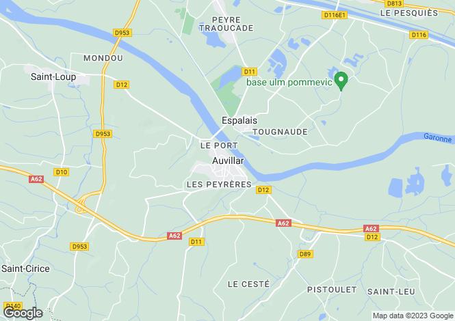 Map for Secteur: Auvillar, Tarn-et-Garonne