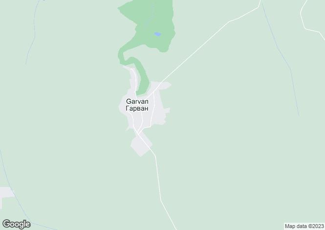 Map for Garvan, Silistra