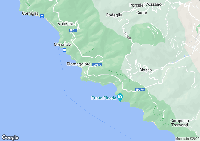 Map for Riomaggiore (5 Terre), Riomaggiore, Tuscany, Italy