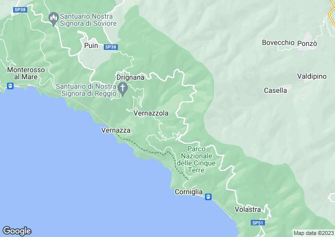 Map for Liguria, La Spezia, La Spezia