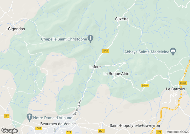 Map for 84190, Lafare, Vaucluse
