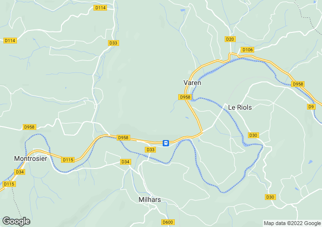 Map for Varen, Tarn-et-Garonne, Midi-Pyrénées