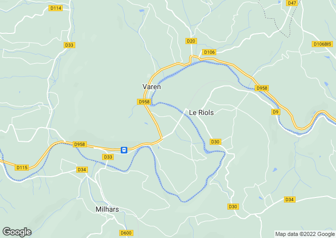Map for le-riols, Tarn, France