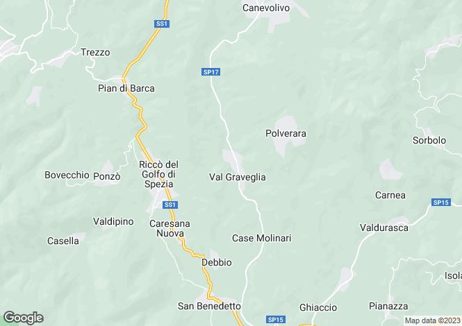 Map for RiccA? del Golfo, La Spezia, Italy