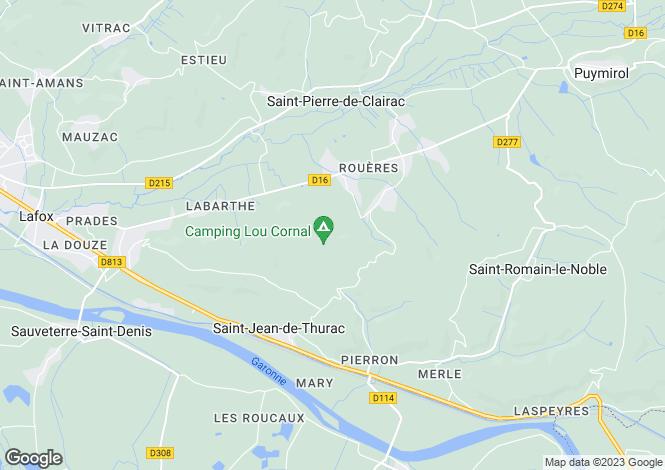 Map for Aquitaine, Lot-et-Garonne, St-Jean-de-Thurac