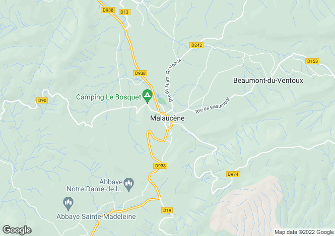 Map for 84340, Malaucene, Vaucluse