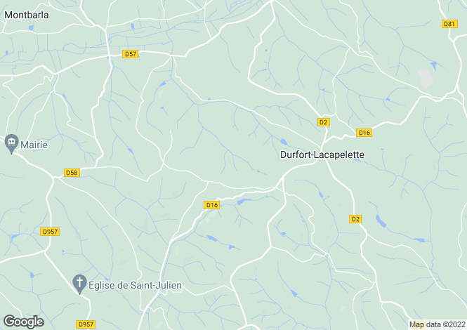 Map for durfort-lacapelette, Tarn-et-Garonne, France
