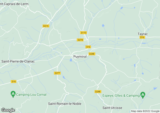 Map for Proche / Near Puymirol, Lot et Garonne