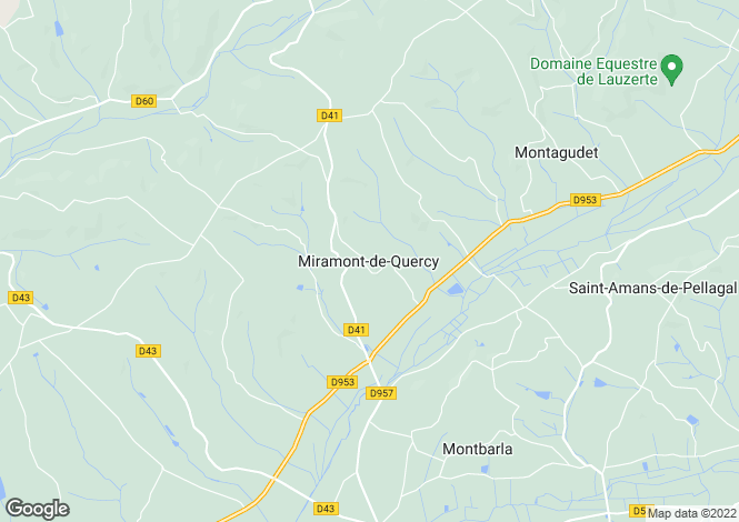 Map for Miramont-de-Quercy, 82190, France