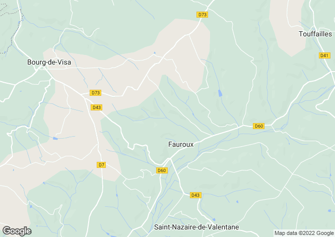 Map for FAUROUX, 82190, France