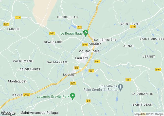 Map for Secteur: Lauzerte, Tarn-et-Garonne