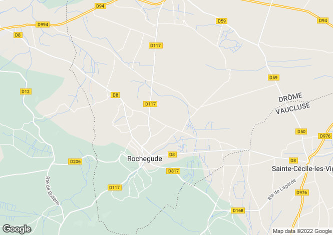 Map for ROCHEGUDE, DROME