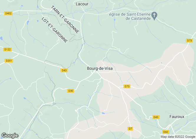 Map for Bourg De Visa, Tarn-Et-Garonne, France
