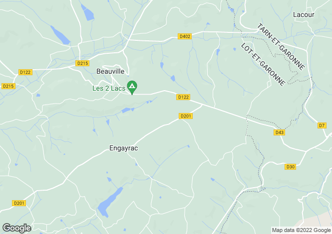 Map for Aquitaine, Lot-et-Garonne, Engayrac