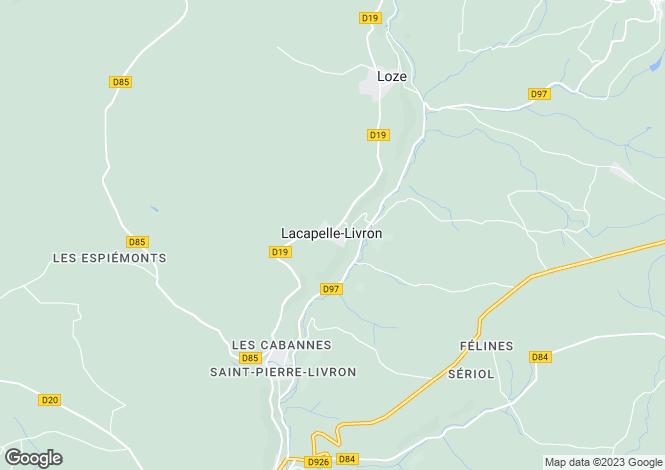 Map for 10045: Nr Caylus, Tarn-et-Garonne