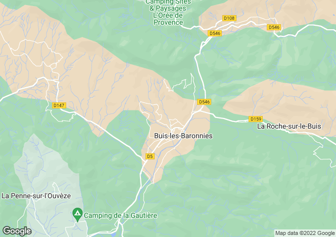 Map for Buis-Les-Baronnies, Rhone-Alpes, 26170, France