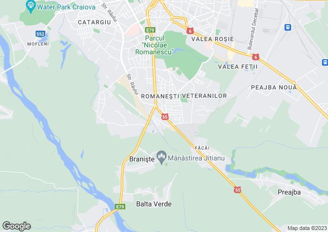 Map for Dolj, Craiova