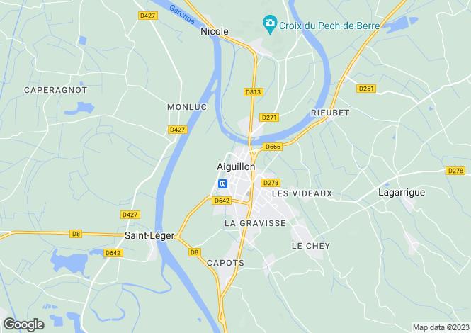 Map for Secteur: Le Temple Sur Lot, Lot et Garonne