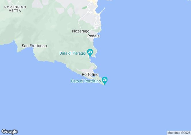 Map for Portofino, Genoa, Liguria