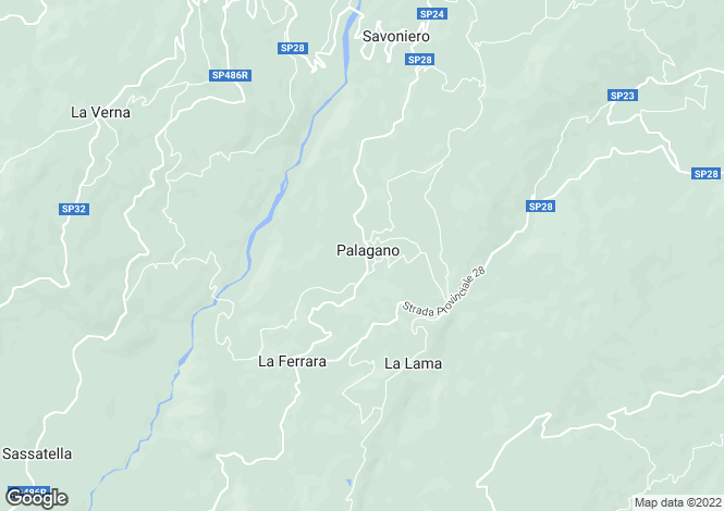 Map for Palagano, Modena, Emilia-Romagna