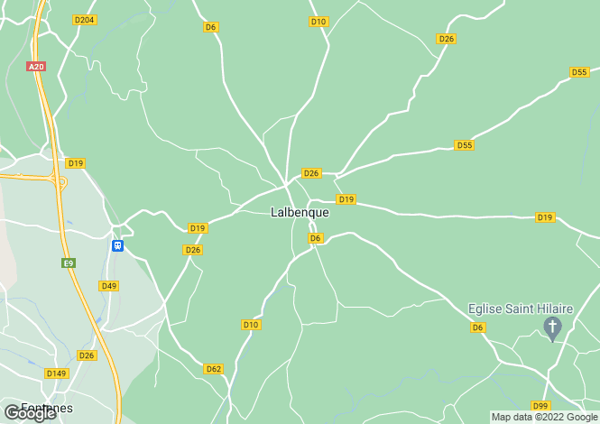 Map for Secteur: Lalbenque, Lot