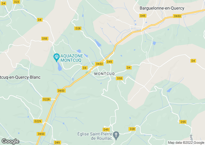 Map for Montcuq, 46800, France