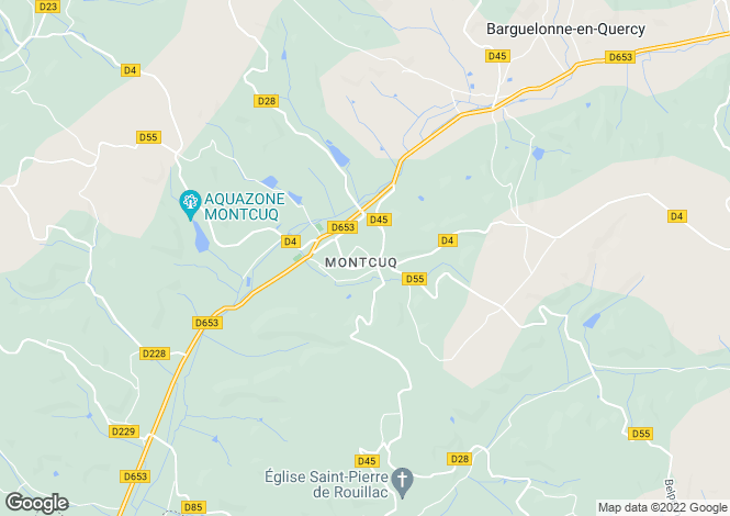 Map for Secteur: Montcuq, Lot