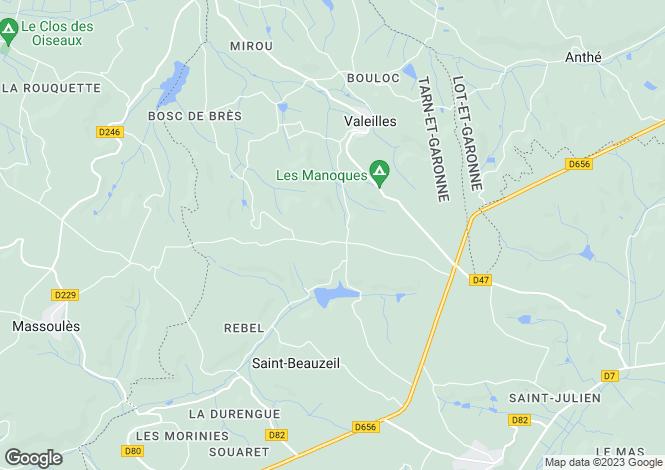 Map for st-beauzeil, Tarn-et-Garonne, France