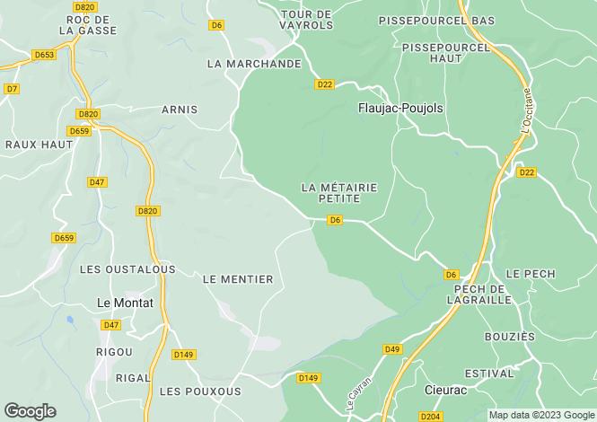 Map for Martel, Lot, 46400, France