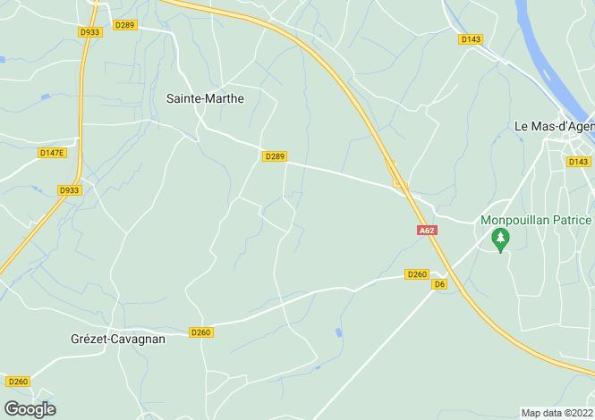 Map for ste-marthe, Lot-et-Garonne, France