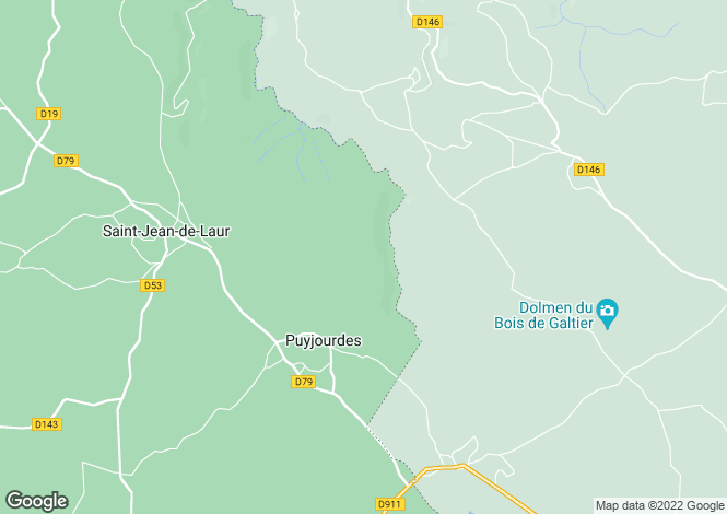 Map for Midi-Pyrenees, Lot, Puyjourdes