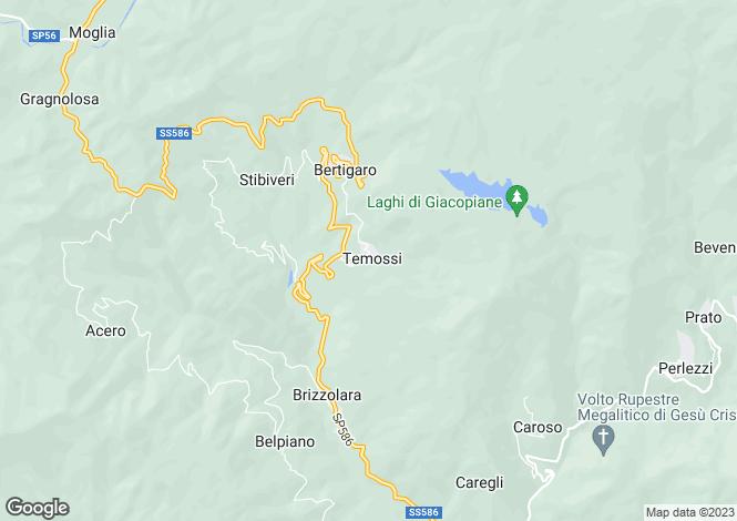 Map for Via Alla Chiesa Di Temossi, Borzonasca, 16041, Italy