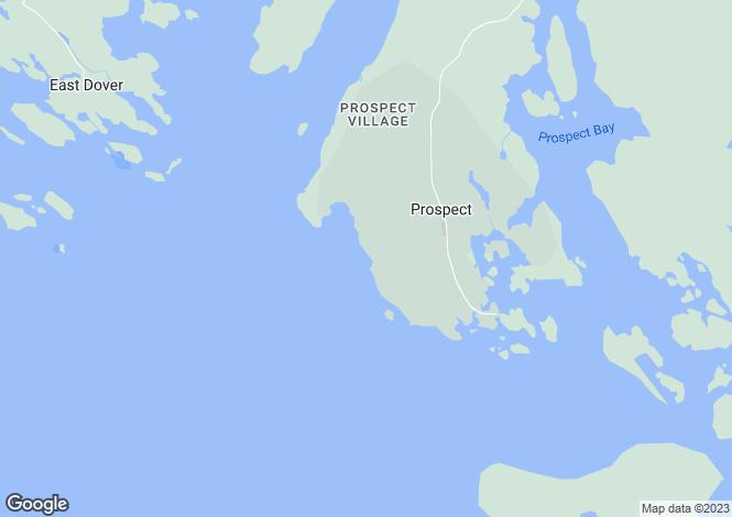 Map for Nova Scotia, Prospect