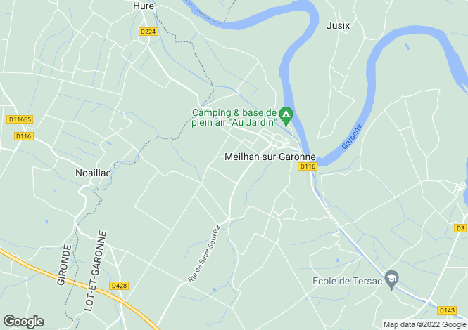 Map for meilhan-sur-garonne, Lot-et-Garonne, France