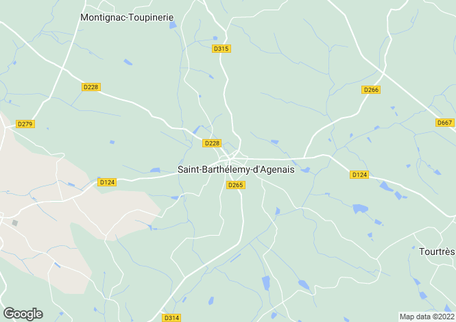 Map for St. Barthelemy, Lot et Garonne, 47350, France
