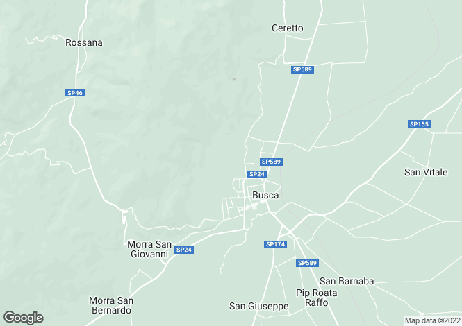 Map for Busca, Cuneo, Piedmont