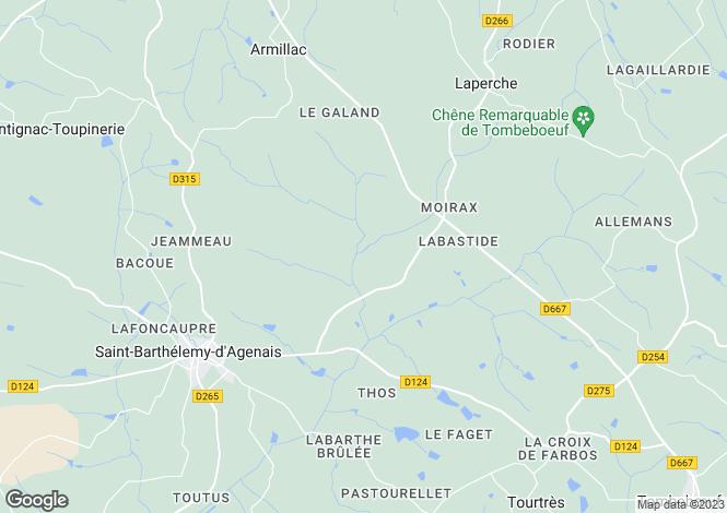 Map for fongrave, Lot-et-Garonne, France