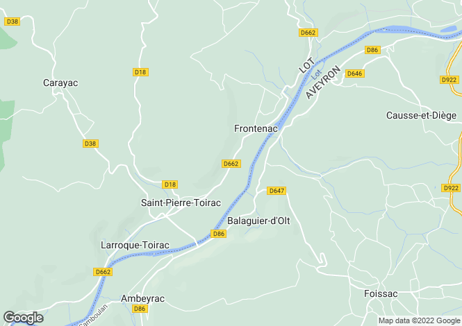 Map for Midi-Pyrenees, Lot, Saint-Pierre-Toirac